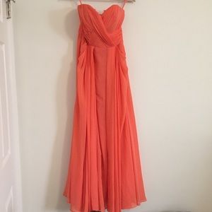 Coral Gown Size XS